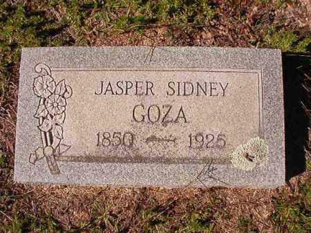 GOZA, JASPER SIDNEY - Dallas County, Arkansas | JASPER SIDNEY GOZA - Arkansas Gravestone Photos