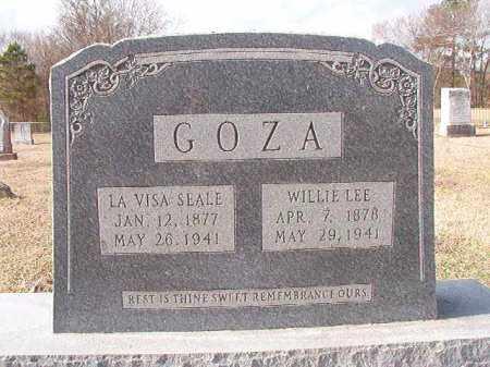 SEALE GOZA, LA VISA - Dallas County, Arkansas | LA VISA SEALE GOZA - Arkansas Gravestone Photos