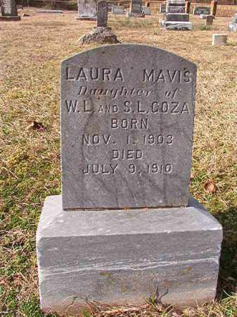 GOZA, LAURA MAVIS - Dallas County, Arkansas | LAURA MAVIS GOZA - Arkansas Gravestone Photos