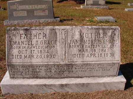 GRACE, EMANUEL D - Dallas County, Arkansas   EMANUEL D GRACE - Arkansas Gravestone Photos
