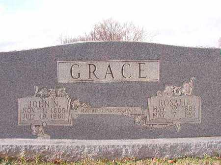 GRACE, ROSALIE - Dallas County, Arkansas | ROSALIE GRACE - Arkansas Gravestone Photos