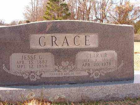 GRACE, CLARA R - Dallas County, Arkansas | CLARA R GRACE - Arkansas Gravestone Photos