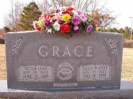 MCATEER GRACE, SALLIE - Dallas County, Arkansas | SALLIE MCATEER GRACE - Arkansas Gravestone Photos