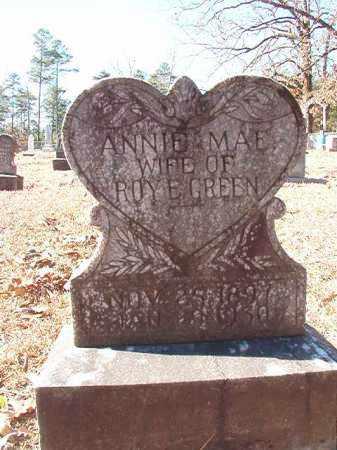 GREEN, ANNIE MAE - Dallas County, Arkansas | ANNIE MAE GREEN - Arkansas Gravestone Photos