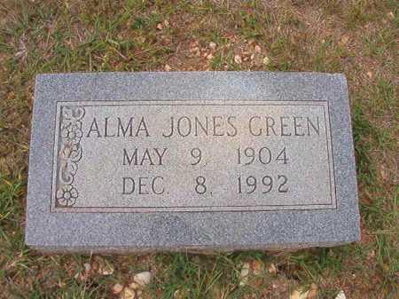 GREEN, ALMA - Dallas County, Arkansas   ALMA GREEN - Arkansas Gravestone Photos