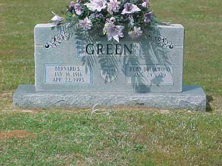 GREEN, BERNARD S. - Dallas County, Arkansas | BERNARD S. GREEN - Arkansas Gravestone Photos