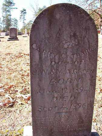 GREEN, CARRY CATHARINE - Dallas County, Arkansas | CARRY CATHARINE GREEN - Arkansas Gravestone Photos