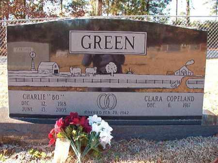 "GREEN, CHARLIE ""BO"" - Dallas County, Arkansas | CHARLIE ""BO"" GREEN - Arkansas Gravestone Photos"