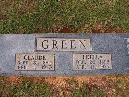 GREEN, IDELLA - Dallas County, Arkansas | IDELLA GREEN - Arkansas Gravestone Photos
