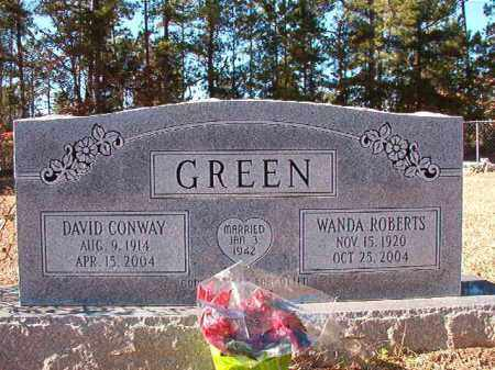 GREEN, DAVID CONWAY - Dallas County, Arkansas | DAVID CONWAY GREEN - Arkansas Gravestone Photos