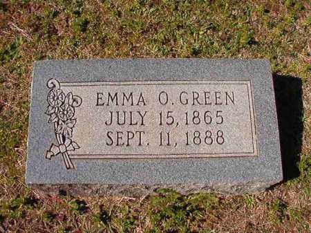 GREEN, EMMA O - Dallas County, Arkansas | EMMA O GREEN - Arkansas Gravestone Photos