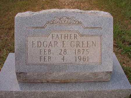 GREEN, EDGAR E - Dallas County, Arkansas   EDGAR E GREEN - Arkansas Gravestone Photos