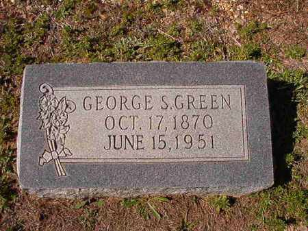 GREEN, GEORGE S - Dallas County, Arkansas   GEORGE S GREEN - Arkansas Gravestone Photos