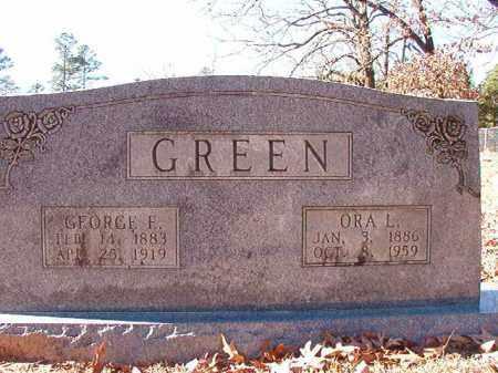 GREEN, GEORGE E - Dallas County, Arkansas | GEORGE E GREEN - Arkansas Gravestone Photos