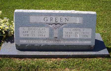 GREEN, CARRIE P - Dallas County, Arkansas | CARRIE P GREEN - Arkansas Gravestone Photos