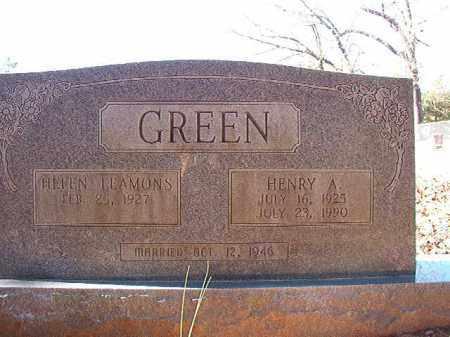 GREEN, HENRY A - Dallas County, Arkansas | HENRY A GREEN - Arkansas Gravestone Photos