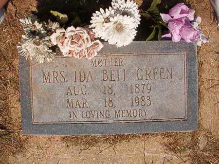 GREEN, IDA BELL - Dallas County, Arkansas | IDA BELL GREEN - Arkansas Gravestone Photos