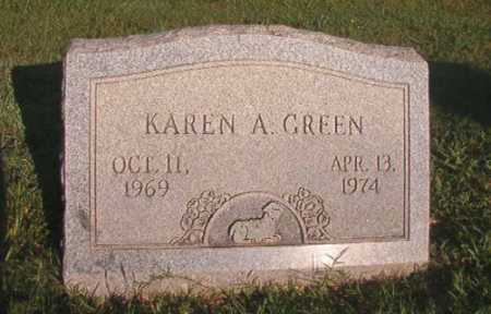 GREEN, KAREN A - Dallas County, Arkansas   KAREN A GREEN - Arkansas Gravestone Photos