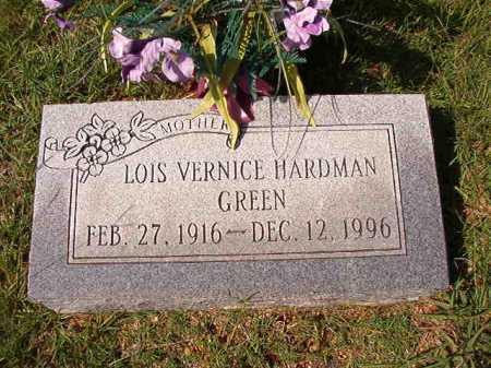GREEN, LOIS VERNICE - Dallas County, Arkansas   LOIS VERNICE GREEN - Arkansas Gravestone Photos