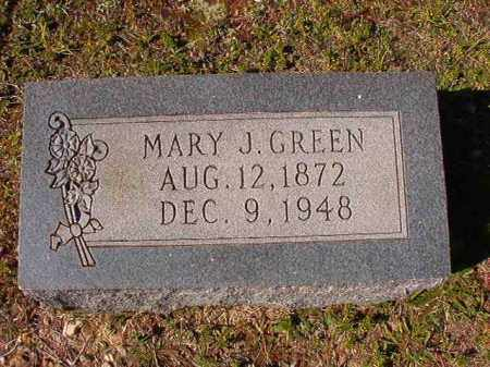 GREEN, MARY J - Dallas County, Arkansas | MARY J GREEN - Arkansas Gravestone Photos