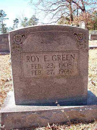 GREEN, ROY E - Dallas County, Arkansas | ROY E GREEN - Arkansas Gravestone Photos