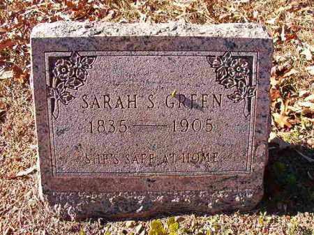 GREEN, SARAH S - Dallas County, Arkansas   SARAH S GREEN - Arkansas Gravestone Photos