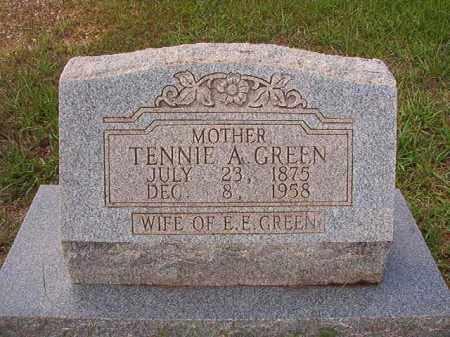 GREEN, TENNIE A - Dallas County, Arkansas | TENNIE A GREEN - Arkansas Gravestone Photos