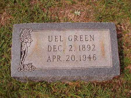 GREEN, UEL - Dallas County, Arkansas   UEL GREEN - Arkansas Gravestone Photos