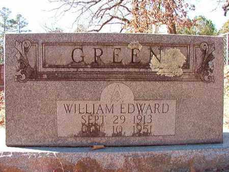 GREEN, WILLIAM EDWARD - Dallas County, Arkansas | WILLIAM EDWARD GREEN - Arkansas Gravestone Photos