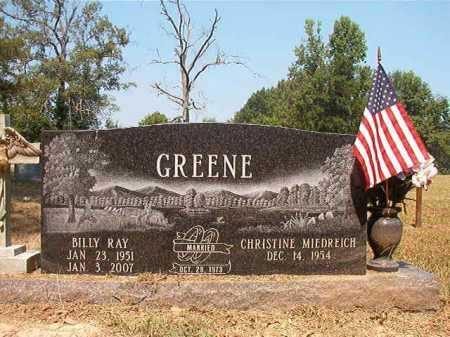 GREENE, BILLY RAY - Dallas County, Arkansas | BILLY RAY GREENE - Arkansas Gravestone Photos