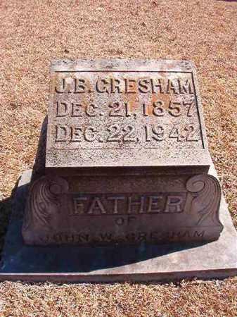 GRESHAM, J B - Dallas County, Arkansas | J B GRESHAM - Arkansas Gravestone Photos