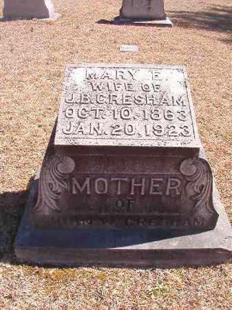 GRESHAM, MARY E - Dallas County, Arkansas | MARY E GRESHAM - Arkansas Gravestone Photos