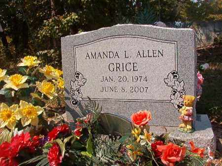ALLEN GRICE, AMANDA L - Dallas County, Arkansas   AMANDA L ALLEN GRICE - Arkansas Gravestone Photos