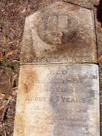 GRIMES, ROBERT H - Dallas County, Arkansas | ROBERT H GRIMES - Arkansas Gravestone Photos