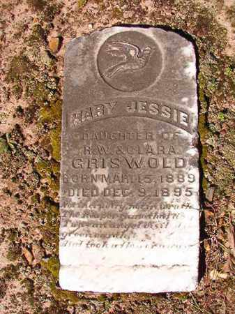 GRISWOLD, MARY JESSIE - Dallas County, Arkansas | MARY JESSIE GRISWOLD - Arkansas Gravestone Photos