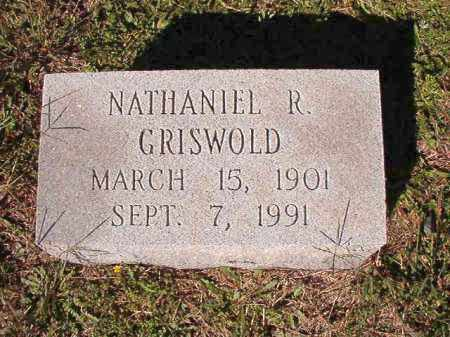 GRISWOLD, NATHANIEL R - Dallas County, Arkansas | NATHANIEL R GRISWOLD - Arkansas Gravestone Photos