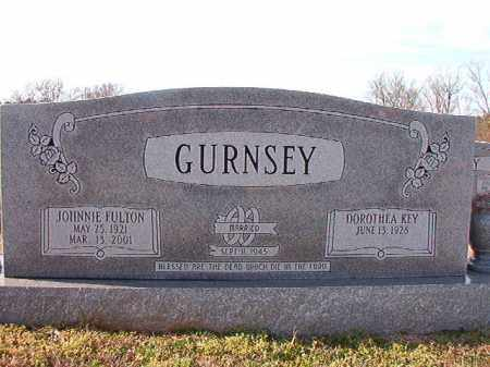 GURNSEY, JOHNNIE FULTON - Dallas County, Arkansas | JOHNNIE FULTON GURNSEY - Arkansas Gravestone Photos