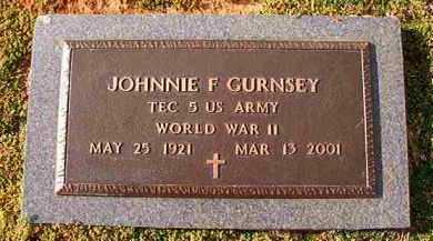 GURNSEY (VETERAN WWII), JOHNNIE F - Dallas County, Arkansas | JOHNNIE F GURNSEY (VETERAN WWII) - Arkansas Gravestone Photos