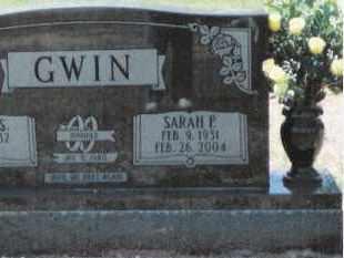 SISSON GWIN, SARAH FRANCES - Dallas County, Arkansas | SARAH FRANCES SISSON GWIN - Arkansas Gravestone Photos