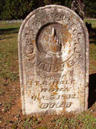 HALE, NANCY E - Dallas County, Arkansas | NANCY E HALE - Arkansas Gravestone Photos