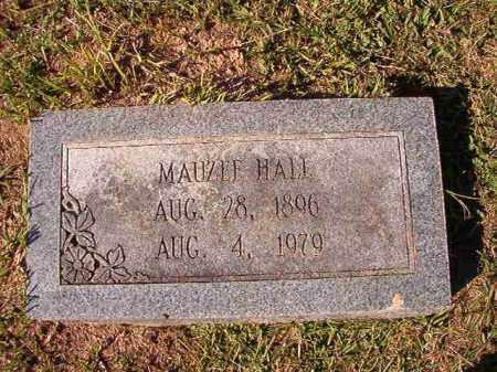 HALL, MAUZEE - Dallas County, Arkansas | MAUZEE HALL - Arkansas Gravestone Photos