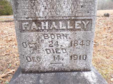 HALLEY, F A - Dallas County, Arkansas | F A HALLEY - Arkansas Gravestone Photos