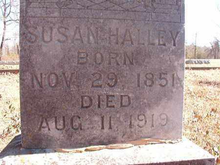 HALLEY, SUSAN - Dallas County, Arkansas   SUSAN HALLEY - Arkansas Gravestone Photos