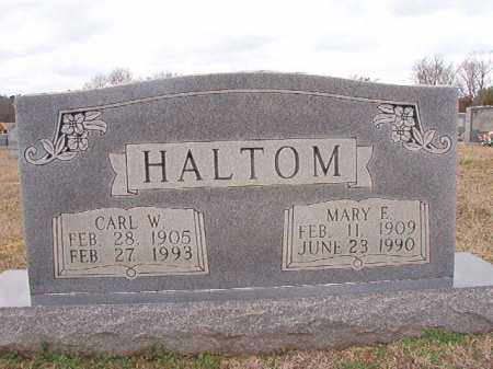 HALTOM, CARL W - Dallas County, Arkansas | CARL W HALTOM - Arkansas Gravestone Photos