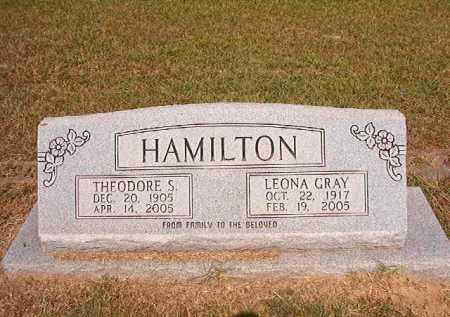 HAMILTON, THEODORE S - Dallas County, Arkansas | THEODORE S HAMILTON - Arkansas Gravestone Photos