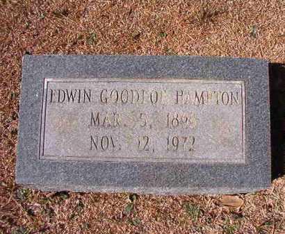 HAMPTON, EDWIN GOODLOE - Dallas County, Arkansas   EDWIN GOODLOE HAMPTON - Arkansas Gravestone Photos