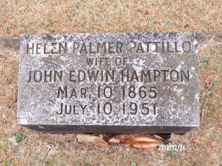 HAMPTON, HELEN PALMER - Dallas County, Arkansas | HELEN PALMER HAMPTON - Arkansas Gravestone Photos