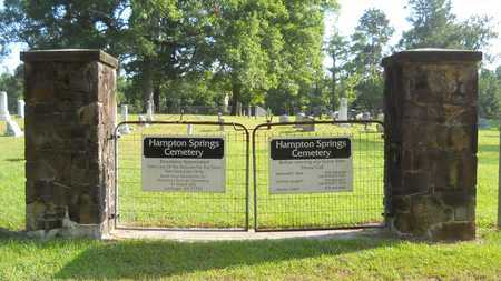 *HAMPTON SPRINGS CEMETERY, GATE - Dallas County, Arkansas | GATE *HAMPTON SPRINGS CEMETERY - Arkansas Gravestone Photos