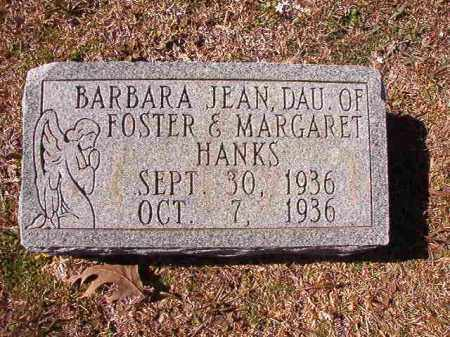 HANKS, BARBARA JEAN - Dallas County, Arkansas | BARBARA JEAN HANKS - Arkansas Gravestone Photos