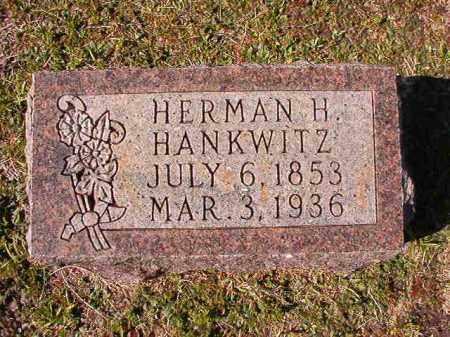 HANKWITZ, HERMAN H - Dallas County, Arkansas | HERMAN H HANKWITZ - Arkansas Gravestone Photos